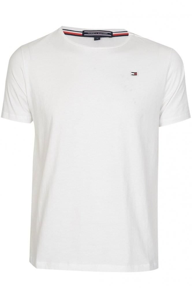 7c8a6a95 TOMMY HILFIGER Flag Logo Tshirt White | Plain t-shirts. | Flag logo, Tommy  Hilfiger, T shirt