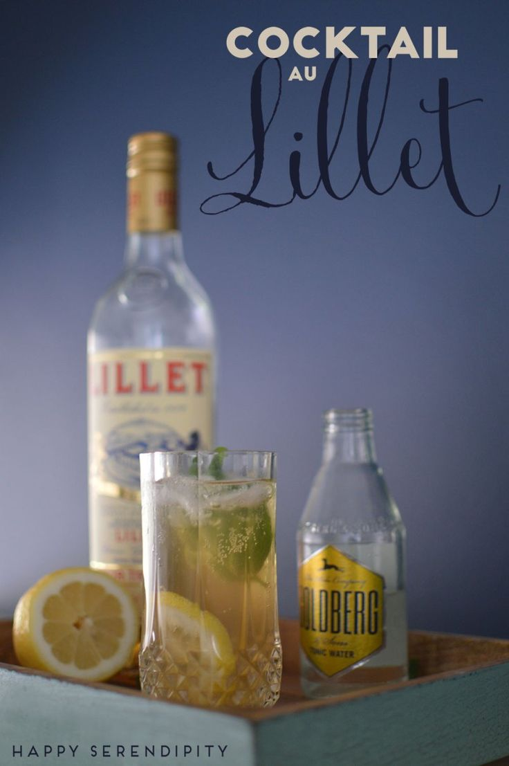 Cocktail au lillet