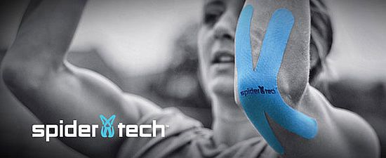Spidertech kinesiology Tape Spidertech kinesiology tape is the drug-free way to decrease discomfort and trigger muscle activity. You can apply SpiderTech anytime, anywhere to relieve discomfort and get back in action again. The process offers you a safer alternative to potentially risky medications. http://xtremeinnov8tion.com/spidertech-kinesiology-tape#