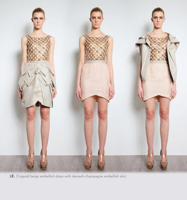 skirt as shrug || albert yanuar 2013