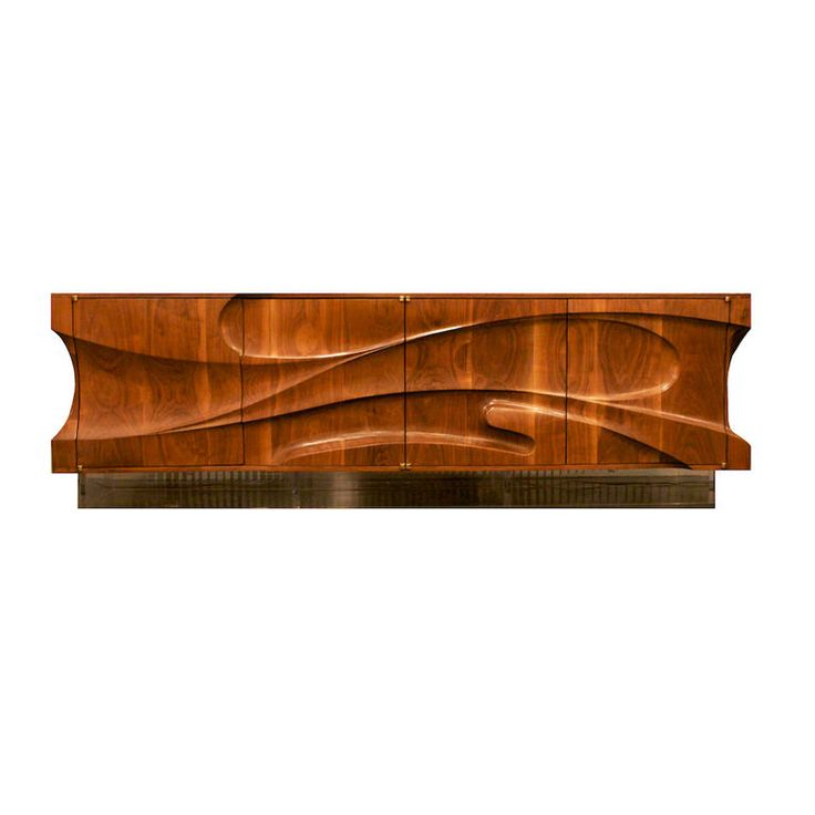 Michael Coffey Crosswinds console - handcrafted wood furniture
