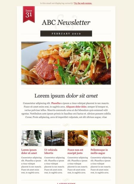 Best Newsletter Design Inspiration Images On   Email