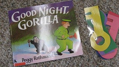 goodnight gorilla color matching game