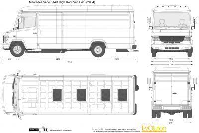 Mercedes-Benz Vario 814D High Roof Van LWB