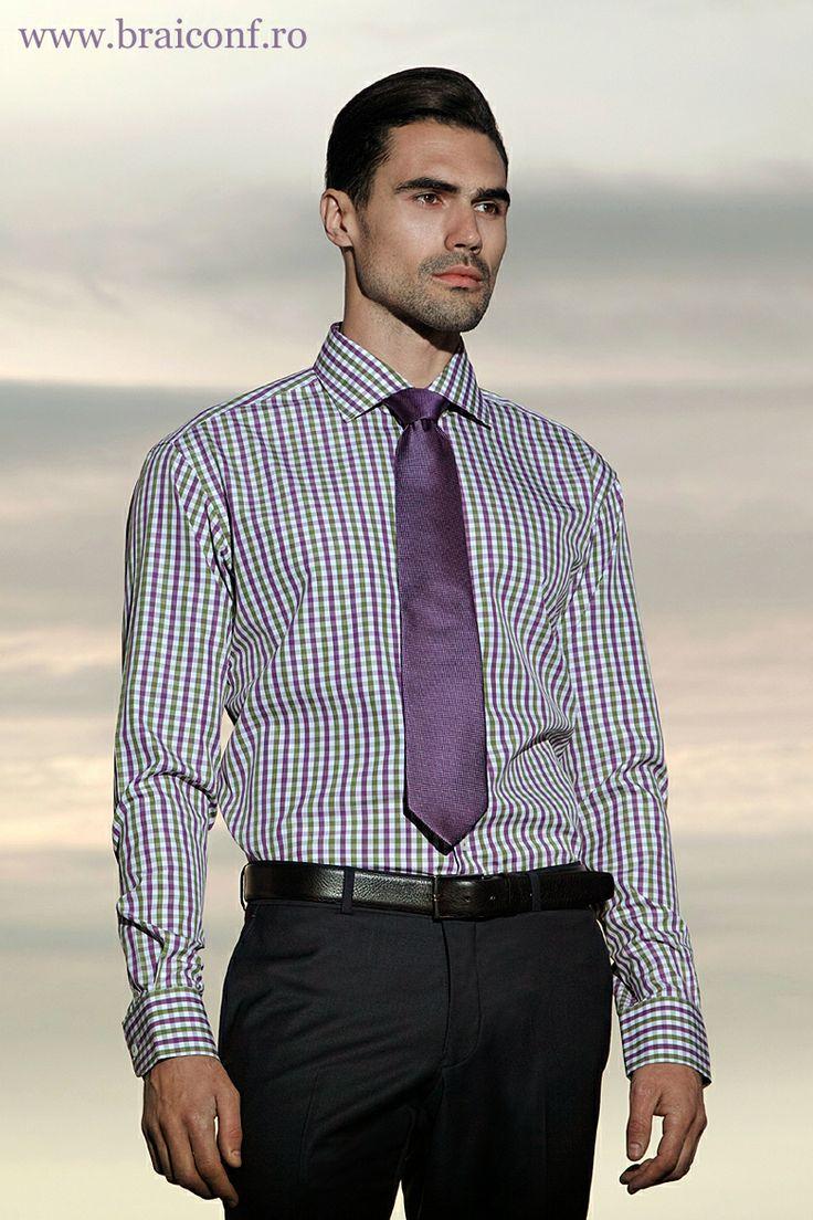 Sfatul nostru: cravatele se potrivesc cămășilor cu mânecă lungă și mai puțin celor cu mânecă scurtă (chiar daca este vară).   www.braiconf.ro/camasa-cu-maneca-lunga-112-6859-osv-4  Fii exigent cu imaginea ta și alege calitatea Braiconf - cel mai mare producător de cămăși din România, cu tradiție din 1950!