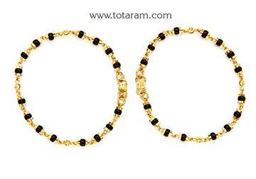 Totaram Jewelers: Buy 22 karat Gold jewelry & Diamond jewellery from India: Baby Bangles