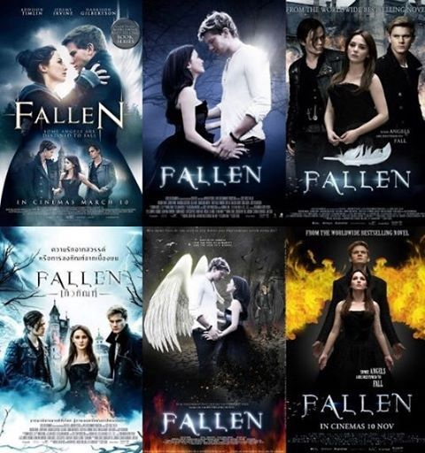 #fallenmovie posters around the world