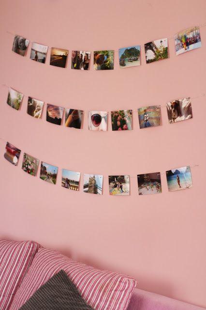 Adorable photo string!