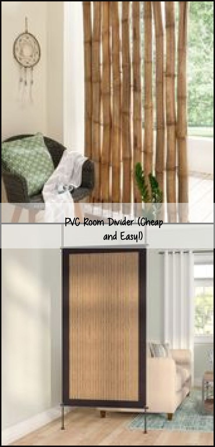PVC Room Divider (Cheap and Easy!), diyroomart