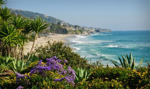 Webcam desde Laguna Beach, Estados Unidos