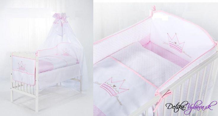 4D komplet KLUP Malá princezná - Detské a kojenecké oblečenie, detská výbavička, kočíky, detské izby, detské postieľky, všetko pre deti