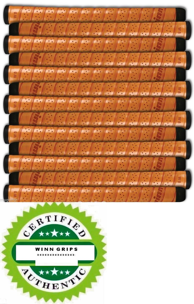 Golf Club Grips 47324: 13 Winn Excel 6715 Soft Copper Wrap Golf Grips + 1/32 Midsize -Authentic And Fresh -> BUY IT NOW ONLY: $69.95 on eBay!