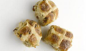 Spiced Stout Buns - Dan Lepard's recipe