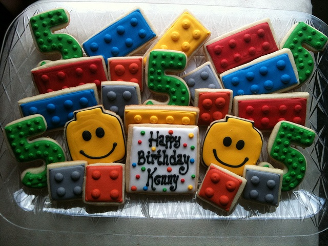 Lego Cookies!!! - Need these for Connor's party!!