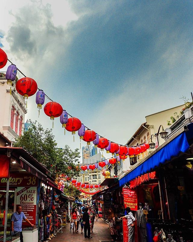 """China Town, Singapore Day 18: IF YOU""""RE HUNGRY...eat at the Maxwell Food Market…"""