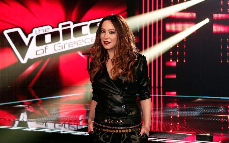 Melina Aslanidou - Coach - The Voice Greece