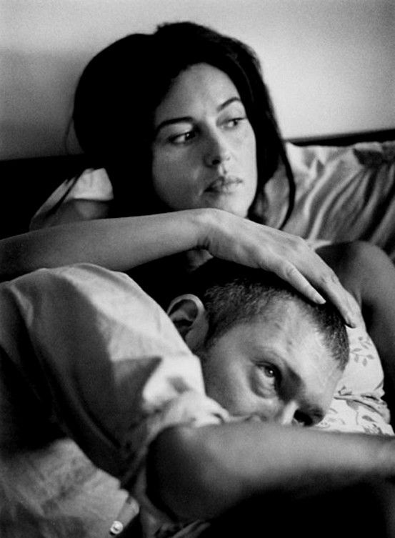 Vincent Cassel and Monica Bellucci in Irreversible directed by Gaspar Noé, 2002