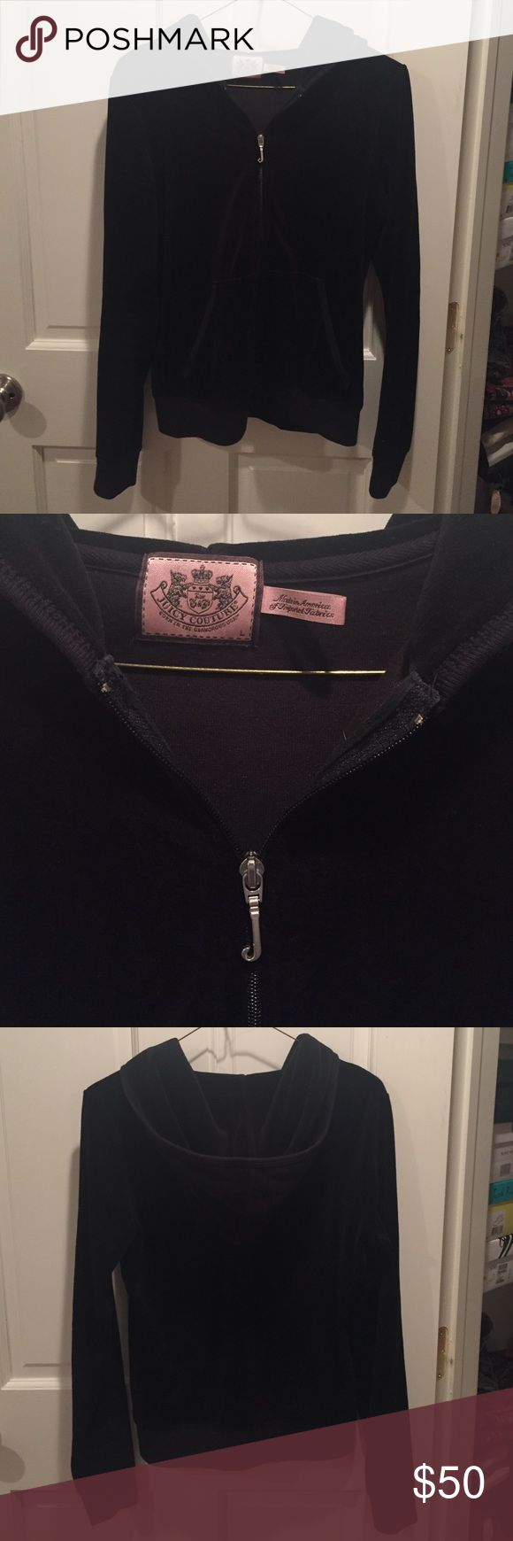 Juicy Couture Velour Jacket Gently used, working zipper, great condition Juicy Couture Jackets & Coats