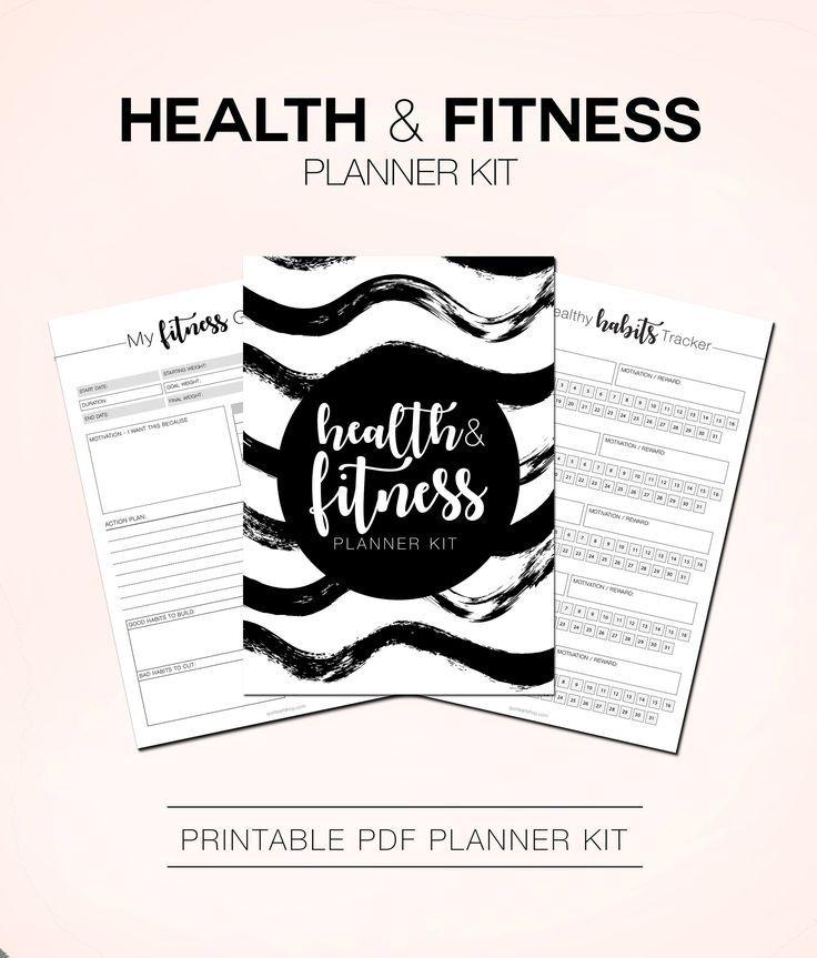 #Fitness #Health #Journal #Loss #Planner #Tracker