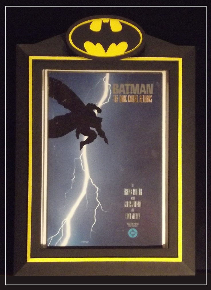 premier series batman comic book display frame from custom comic displays get yours