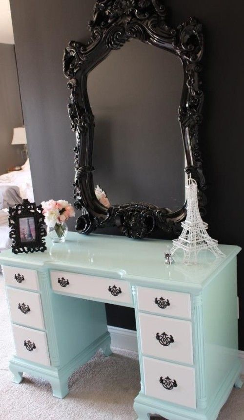 Best 25 Vanity desk with mirror ideas only on Pinterest Makeup