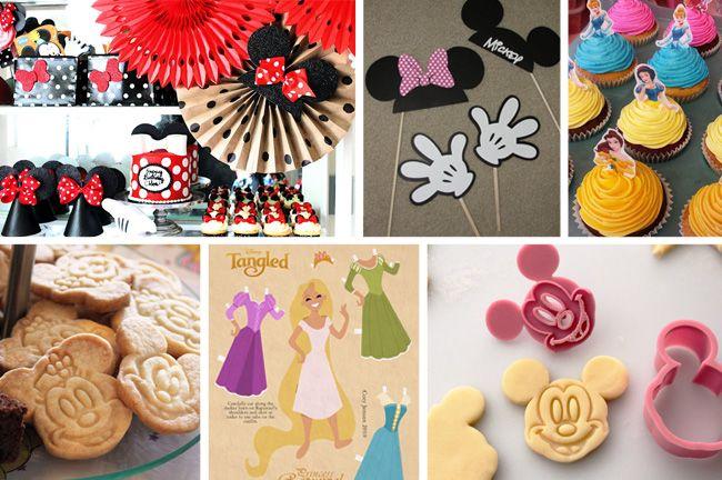Onze #DIY tips voor een geslaagd #Disney themafeest: Mickey Mouse koekjes, spelletjes en versieringen | www.HuupHuup.nl