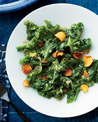 Steamed Mustard Greens with Balinese Sambal Recipe on Food & Wine... sounds awesome!