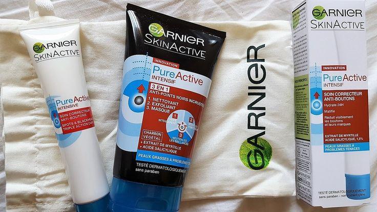 Concours Garnier Skinactive Pure Active Intensif