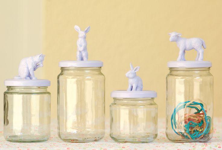 New animal jam jars | von jasna.janekovic