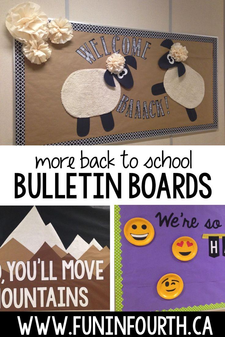 Classroom Decor For Sale ~ The best elementary bulletin boards ideas on pinterest