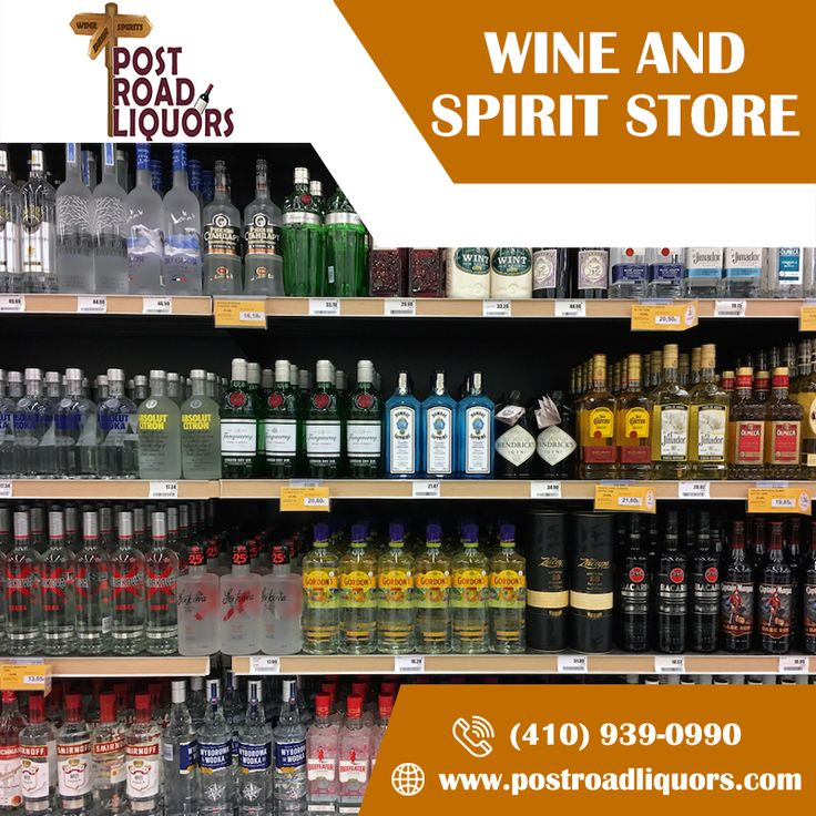 Get the best wine and spirits from post road liquor store