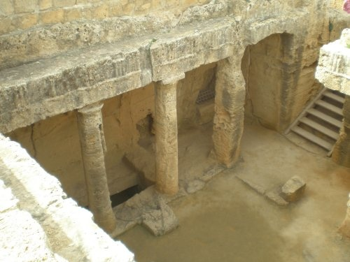 Tombs of the kings - Paphos Cyprus - AWESOME!!!!!!!!!!!!!