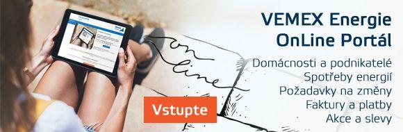 Zde se můžete přihlásit do svého online účtu. Pro aktivaci účtu webové aplikace VEMEX Energie OnLine Portál nás prosím kontaktujte na Zákaznické lince zdarma 800 400 420, případně emailem na adrese info@vemexenergie.cz.