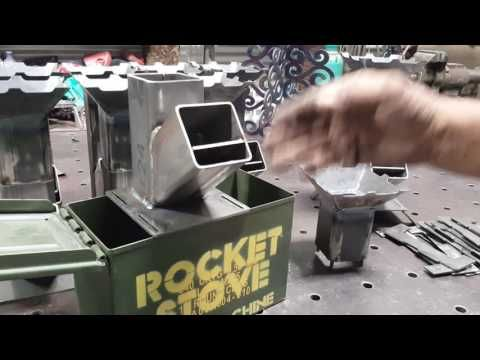 Pocket Rocket Stove - Part 5 - YouTube