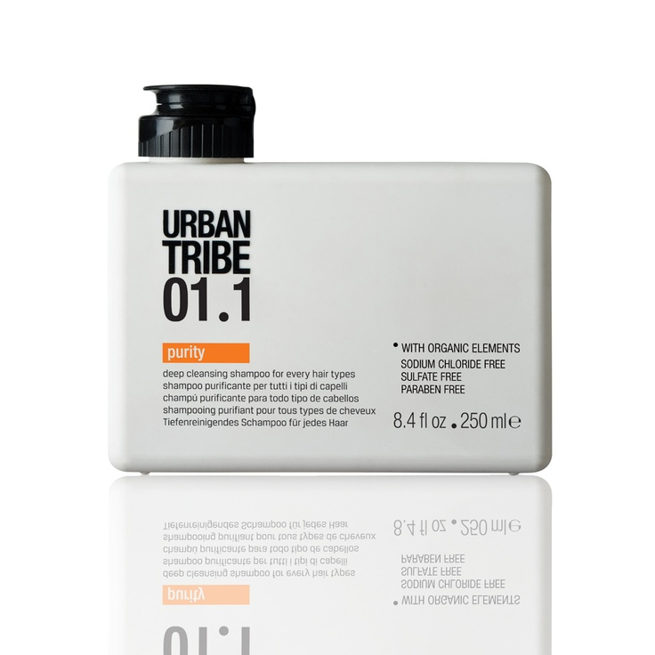 Urban Tribe 01.1 purity - deep cleansing shampoo for every hair types!