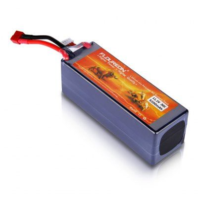 FLOUREON 3S Lipo Battery Pack (With Hard Case) 11.1V 5200mAh 30C Deans Plug for RC Helicopter RC Airplane RC Hobby-22.71 and Free Shipping| GearBest.com