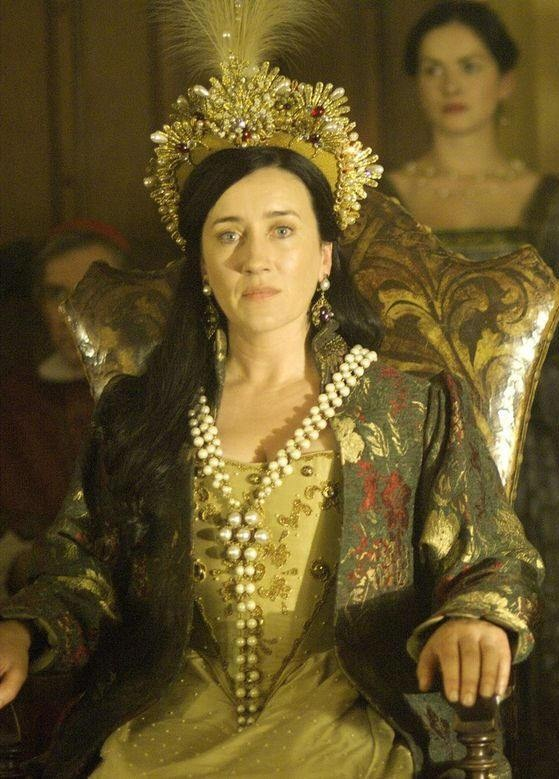 Queen Katherine of Aragon, First Wife of Henry VIII The Tudors (2007-2010) - Maria Doyle Kennedy