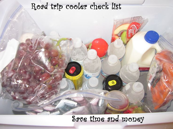 What and how to pack for road trips to save money on the road and in the hotel.