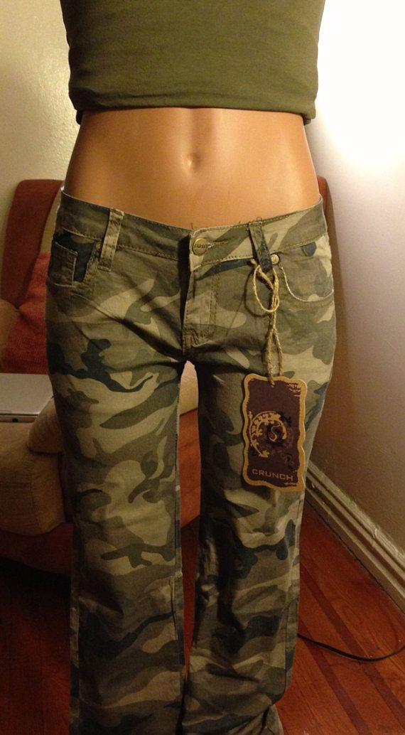 Army jeans by StylishSocietyNYC on Etsy, $20.00