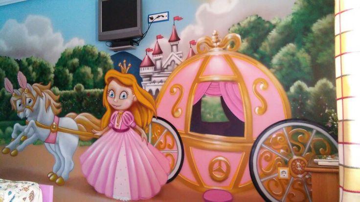 Alojamiento tematico,a 5 min del parque Warner,habitacion tematica princesas, mas info en :volantehostal@gmail.com