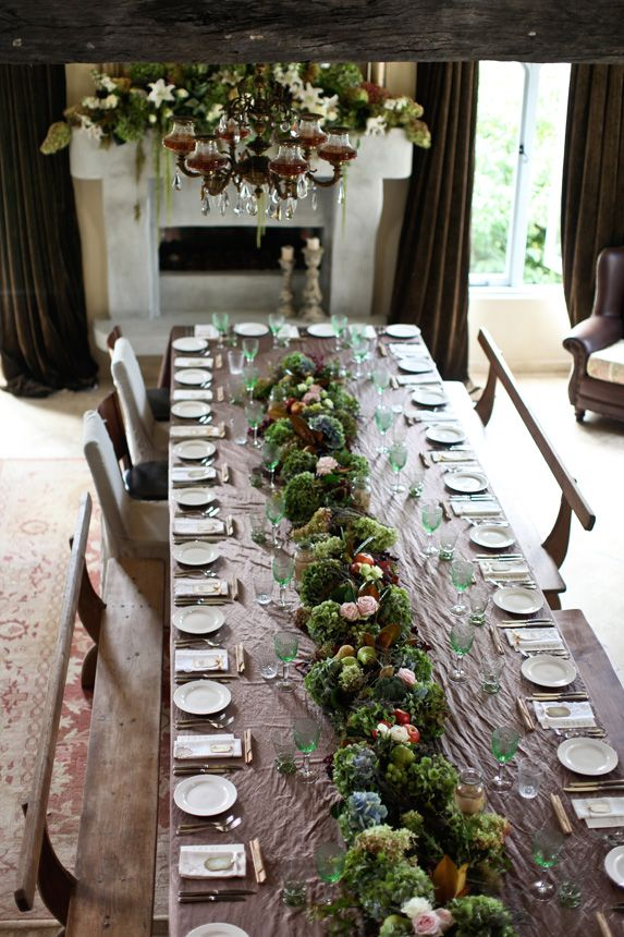 rustic french country tablescapes