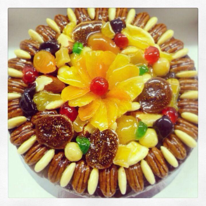 Devine Christmas Fruit Cake
