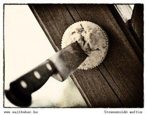 Banános-mogyoróvajas muffin