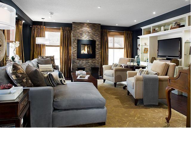 Living Room Window Treatments. Candice OlsonCandice Olsen DesignDark ...