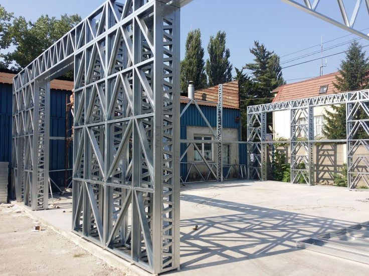 (046-1) Deva, hala 175mp - Rotarex - Fabrica de Structuri Metalice Usoare
