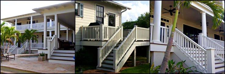 Fiberglass Column & Polyurethane Balustrade System install – Florida