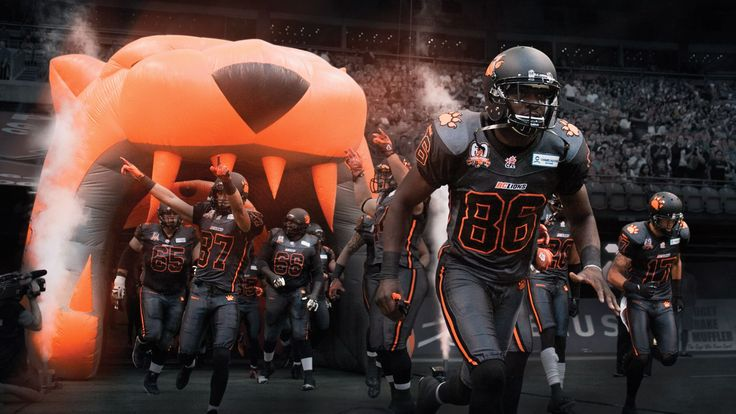 CFL BC LIONS -OCTOBER 2013