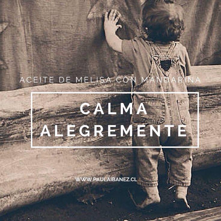 #aromaterapia #aceitesesenciales #melisa #mandarina #niños
