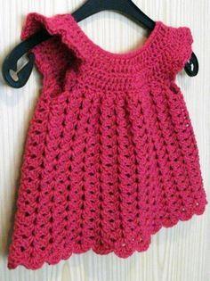 patroon baby jurkje