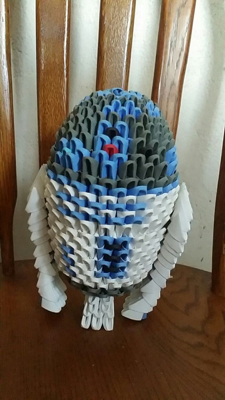 3d origami r2d2 3d origami pinterest 3d origami 3d